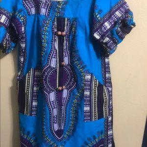 African print dress dashiki Kafka's dress size L